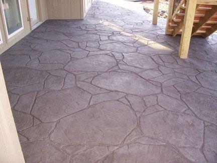 Stamped Concrete Stone Textures Great Plains Concrete